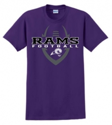 Rams PC54 Purple Football Shirt