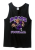 Rams DT5300 Rams Football Black Tank