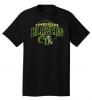 Timberline Fastpitch Port & Company Core Cotton Tee (Black Variant)