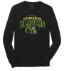 Timberline Fastpitch Port & Company Long Sleeve Core Cotton Tee (Black Variant)